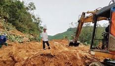 Quảng Nam: Sạt lở 2.500m3 đường khu vực biên giới
