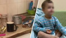 Mẹ đi chơi với bạn, cậu bé 3 tuổi bị bỏ mặc trong nhà suốt 3 ngày, phải ăn cả túi nylon