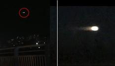 """Đốm sáng bí ẩn bay ngang bầu trời đêm, cư dân mạng cho là """"người ngoài hành tinh ghé thăm"""""""