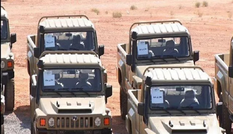 Iran ra mắt xe bọc thép chiến thuật Aras-2 nội địa