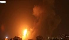 Israel không kích hàng loạt mục tiêu ở Syria lúc nửa đêm