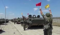 Tổng thống Putin bất ngờ kiểm tra hàng loạt đơn vị quân đội Nga