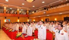 Hình ảnh phiên trù bị Đại hội đại biểu Đảng bộ Công an Trung ương