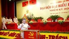 Đại hội Đảng bộ CATW: Dấu mốc lớn cho sự phát triển của lực lượng công an