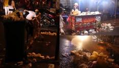 """Phố lồng đèn (TP.HCM) """"hô biến"""" thành """"phố rác"""" chỉ sau một đêm"""