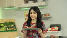 Bạn gái tin đồn của Ngô Kiến Huy xuất hiện đẹp 'hút hồn' tại show ẩm thực