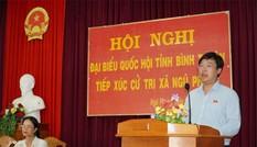 Bí thư thứ nhất T.Ư Đoàn tiếp xúc cử tri huyện đảo Phú Quý