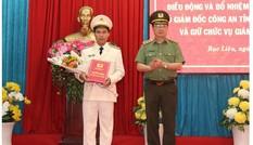 Ba tỉnh Bạc Liêu, Sơn La, Thái Bình có giám đốc công an mới