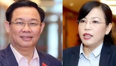 Quốc hội bỏ phiếu kín miễn nhiệm chức phó thủ tướng với ông Vương Đình Huệ