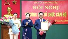 Ban Bí thư Trung ương Đảng chuẩn y Phó Bí thư Tỉnh ủy Thái Nguyên