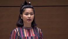 Đại biểu Ksor H'Bơ Khăp: Bộ trưởng tiếp tục ủng hộ thủy điện nhỏ đúng không?