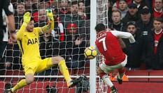 Kết quả vòng 12 Ngoại hạng Anh: Arsenal hạ Tottenham