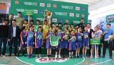 Giải bóng rổ học sinh tiểu học tìm ra nhà vô địch