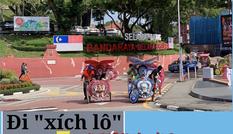 Xích lô sắc màu có một không hai hút khách ở Malaysia
