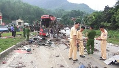 Công an tỉnh Điện Biên điều tra vụ xe khách cắt số khung, mài số máy