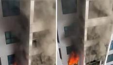 Cháy chung cư TNR Goldmark City
