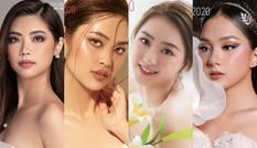 Hoa Hậu Việt Nam hé lộ các ứng viên nặng ký từng chinh chiến tại nhiều cuộc thi sắc đẹp