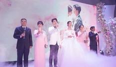 Đám cưới Á hậu Thúy Vân: Những khoảnh khắc đẹp của đôi trai tài gái sắc