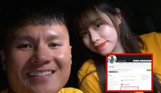 Huỳnh Anh lập tức tỏ động thái sau khi Quang Hải lộ hàng loạt đoạn chat riêng tư
