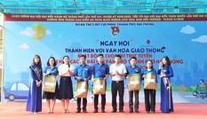 Hơn 1.000 đoàn viên Hải Phòng hưởng ứng ngày hội văn hoá giao thông