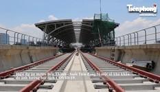 Toàn cảnh nhà ga trên cao và Depot tuyến metro đầu tiên của TPHCM