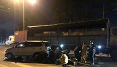 Tài xế lái ô tô tông loạt xe máy dừng đèn đỏ khiến nhiều người bị thương khai gì?
