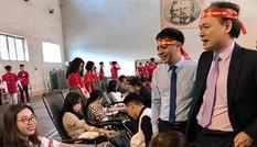 Chủ nhật Đỏ ĐH Y Dược Thái Nguyên: Có sinh viên 18 lần hiến máu