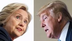 Trump bám đuổi sít sao Clinton trong khảo sát mới