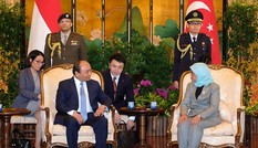 Thủ tướng Việt Nam và Singapore hội đàm