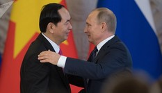 Tổng thống Nga Putin chia buồn về sự ra đi của Chủ tịch Trần Đại Quang