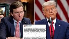 Nói 'bầu cử 2020 an toàn nhất lịch sử', quan chức an ninh bị ông Trump sa thải