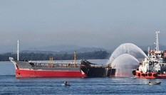 Tìm thấy thi thể thuyền viên mất tích sau vụ cháy tàu ở Quảng Ngãi