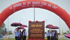 Thông xe kỹ thuật cầu dây văng hiện đại nhất Quảng Ngãi