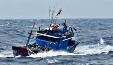 Tàu cá ngư dân chìm trên biển, 4 ngư dân được cứu sống an toàn