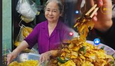 Bánh tráng chiên trứng độc đáo sánh đôi cùng flan màu mè nhất Sài Gòn