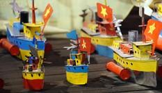 Trẻ mê mẩn với trò chơi Trung thu truyền thống tại Hoàng thành Thăng Long