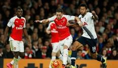 Ozil thiết lập kỷ lục mới trong trận derby London