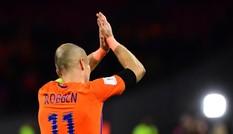 Hà Lan mất vé World Cup, Robben giã từ tuyển quốc gia