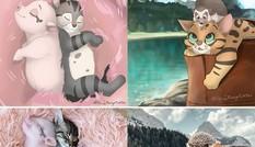 Chỉ fan Disney mới làm được điều này: Đưa thú cưng đời thực bước vào thế giới hoạt hình