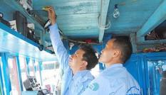 Đẩy nhanh tiến độ lắp đặt thiết bị giám sát hành trình tàu cá