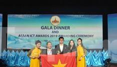 Việt Nam giành giải Vàng và Bạc ở cuộc thi ASEAN ICT AWARDS 2019