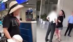 Đề nghị giáng cấp hàm nữ đại úy công an gây rối ở sân bay Tân Sơn Nhất