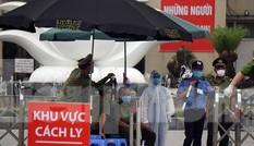 Lập chốt bảo vệ, siết chặt an ninh quanh Bệnh viện Bạch Mai