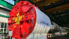Robot đào hầm Metro Nhổn - ga Hà Nội cập cảng Hải Phòng
