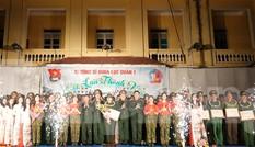 Tuổi trẻ Sĩ quan Lục quân 1 với 'Mái trường tôi yêu'