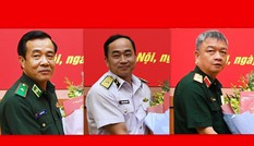 Thủ tướng bổ nhiệm Tư lệnh Hải quân, Biên phòng và Quân khu 3