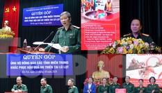 Ban Quản lý Lăng Bác và Báo QĐND phát động ủng hộ đồng bào miền Trung