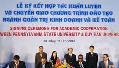Khối ngành Kinh tế, Quản trị và Du lịch năm 2018 tại Duy Tân