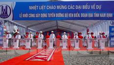 Nam Định khởi công tuyến đường bộ ven biển trị giá gần 2.700 tỷ đồng