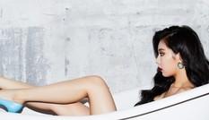 Mỹ nhân 'Gangnam Style' sexy trong bồn tắm
